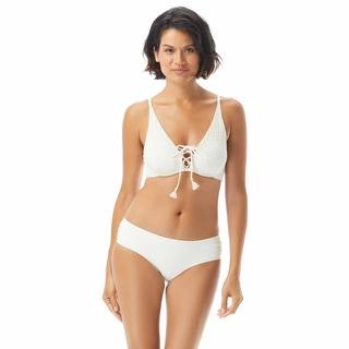 Coco Reef Femme Bra Sized Underwire Bikini Top - Ivory Coast Crochet