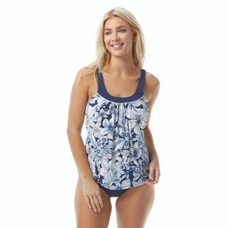 Coco Reef Ultra Fit Bra Sized Underwire Tankini Top - Botanical Oasis