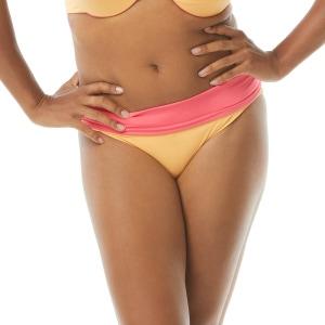 Coco Reef Verso High Waist Reversible Bikini Bottom - Color Block Pop