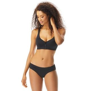 Coco Reef Genus X Bra Sized Racerback Strappy Bikini Top - Classic Solids
